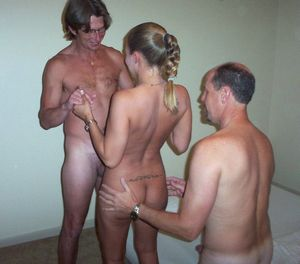 Amateur nude party