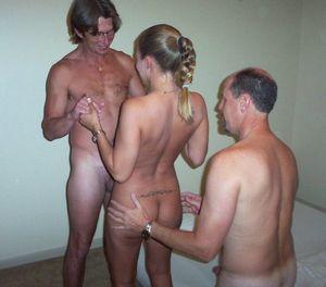 Amateur nude party